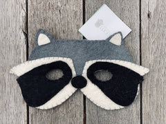 Felt Animal Masks - Racoon, pashom, dragonfly toys