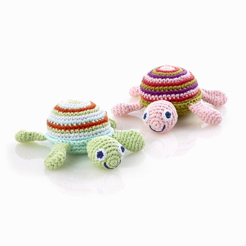 Pebble Turtle Rattle