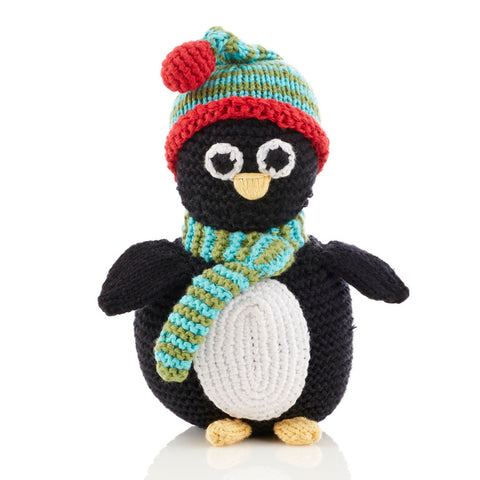Penguin Rattle by Pebble