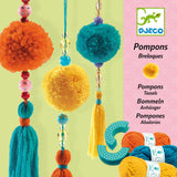 Pom Pom Beads Craft Kit by Djeco