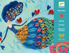 Quilling Craft Kit by Djeco Petticoat.jpg
