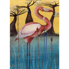 Greeting Card - Flamingo