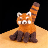 Needle Felted Kit - Red Panda