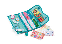 Role Play Wallet with Pretend Play Money by Djeco