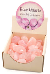Rose Quartz Tumbled Gemstone
