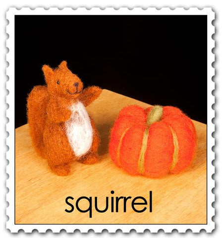 Needle Felting Kit - Squirrel Starter Kit