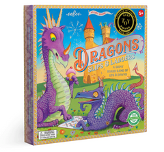 Eeboo Dragon Slips and Ladders, Dragonfly Toys
