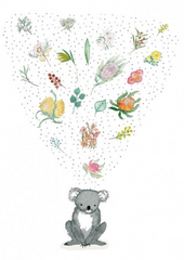 Greeting Card - Bouquet Koala JM 227