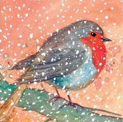 Greeting Card - Snow Bird MC 16