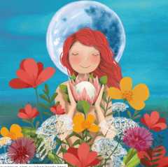 Greeting Card - Deb Hudson - Flower Fairy D 53