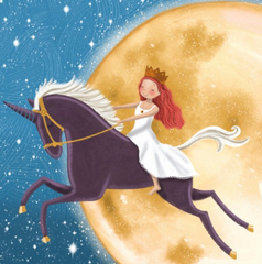 Greeting Card - Deb Hudson - Moon Fairy D 58