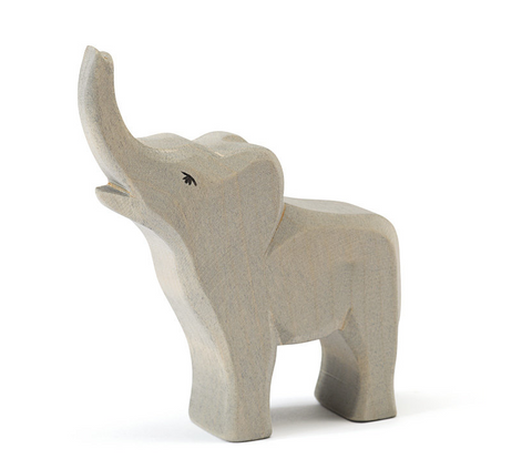 Elephant with Small Trumpeting (20422) - Ostheimer