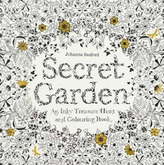 Secret Garden - An Inky Treasure colouring book