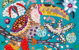 Djeco Sequin Pictures Craft Kit Djeco
