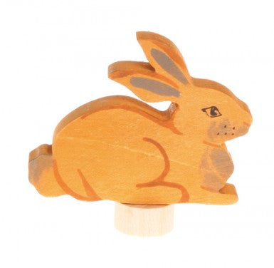 Sitting Rabbit Grimms Advent and Birthday Ring Decoration