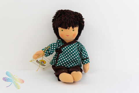 Small Steiner Doll- Boy with Black Hair
