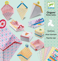 Small Boxes Origami by Djeco