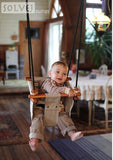 Solvej Toddler Swing - Soft Linen