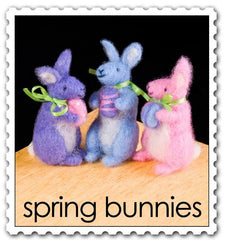 Woolpets Spring Bunnies Felting Kit
