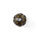 Hevea Rubber Star Ball Charcoal