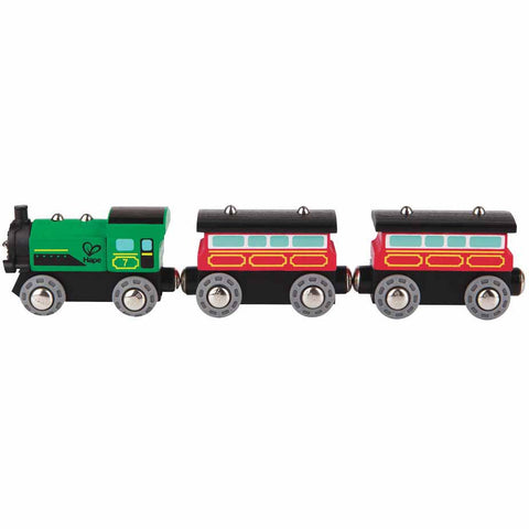 Wooden Steam Era Passenger  Train by Hape