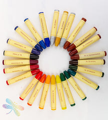 Dragonfly toys, stockmar, stick crayons