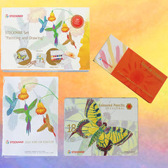 Stockmar Painting and Drawing Gift Set Dragonflytoys