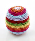 Pebble Crochet Rattle Ball