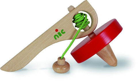 Super Spinning Peg Top by NiC Toys (Gluckskafer)