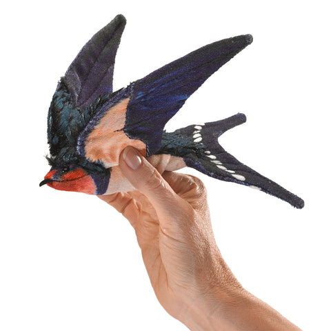 Barn Swallow Puppets by Folkmanis, Dragonflytoys