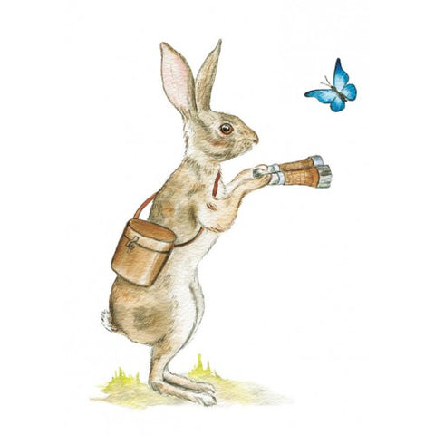 Greeting Card - Rabbit, Dragonflytoys