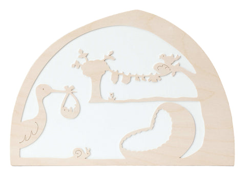 The Stork  De Noest Silhouette, Dragonfly toys