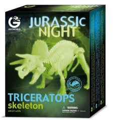 Glow in the Dark Triceratops Model