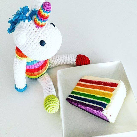 Pebble Rainbow Unicorn