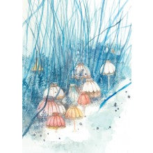 Greeting Card - Veronica Schifano - Umbrellas