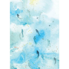 Greeting Card - Veronica Schifano - Blue