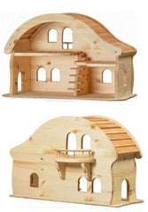 Verneur Wooden Doll House with Balcony