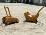 Verneuer Wooden Pram, Trolley, Walker, Dragonfly Toys