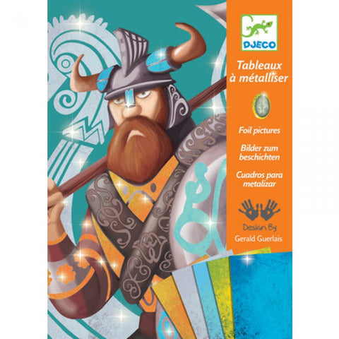 Viking Foil Pictures by Djeco