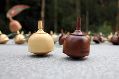 Gumnut Wooden Spinning Tops