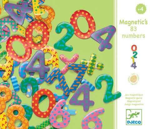 Djeco Magnetic Wooden Numbers
