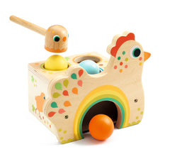 Tap Tap Tapatou Wooden Chicken Game