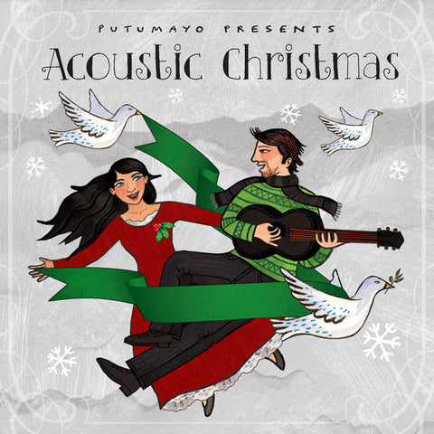 Acoustic Christmas by Putumayo kids music