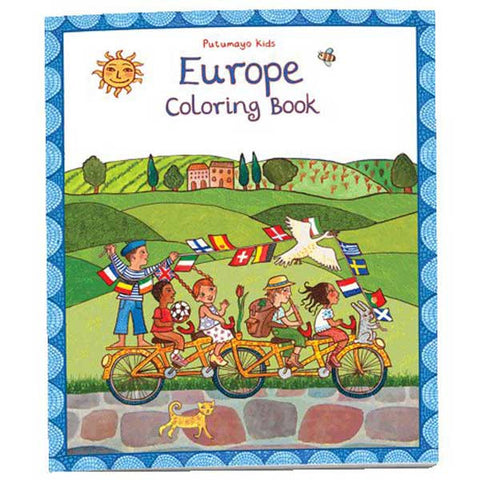 Europe Colouring Book