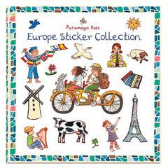 Europe Sticker Book