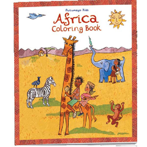 Africa Colouring Book