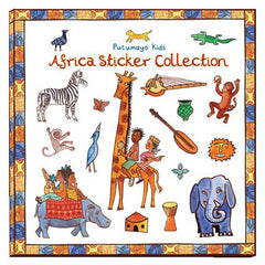 Africa Sticker Book