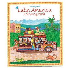 Latin American Colouring Book