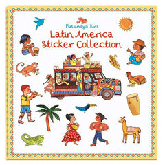 Latin America Sticker Book