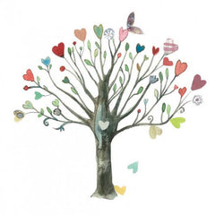 Greeting Card - Heart Tree AP 46
